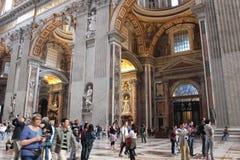 梵蒂冈博物馆和西斯廷教堂 免版税库存照片