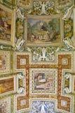 梵蒂冈博物馆,穆塞伊Vaticani,是梵蒂冈的公开艺术和雕塑博物馆,从前的标题字排版 免版税库存图片