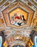 梵蒂冈博物馆,罗马-意大利 免版税库存图片