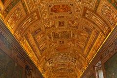 梵蒂冈博物馆  图库摄影
