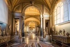 梵蒂冈博物馆 库存照片