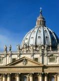 梵蒂冈圆顶 免版税库存图片