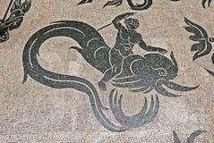 梵蒂冈地板马赛克 免版税图库摄影