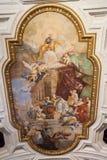 梵蒂冈壁画-罗马 免版税库存图片