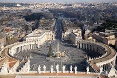 梵蒂冈广场 库存图片