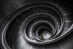 梵蒂冈楼梯在罗马 库存图片
