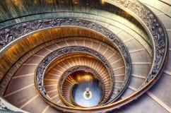 梵蒂冈楼梯 免版税图库摄影