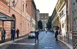 梵蒂冈瑞士近卫队  意大利罗马 免版税库存图片