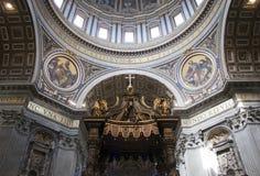 梵蒂冈的上面 库存图片
