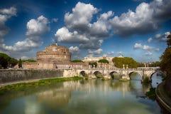 梵蒂冈的卡斯特尔圣安吉洛 免版税库存图片