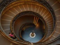 梵蒂冈螺旋 库存照片