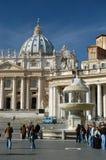 梵蒂冈访客 库存照片