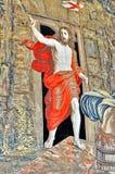 梵蒂冈,基督的复活 库存照片