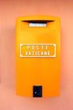 梵蒂冈,意大利-邮箱 图库摄影