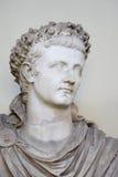 梵蒂冈- 2015年2月23日:凯撒雕象  免版税库存图片