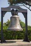 梵蒂冈9月20日:在梵蒂冈庭院的响铃2010年9月20日在梵蒂冈,罗马,意大利 免版税库存图片