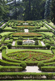 梵蒂冈9月20日:环境美化在2010年9月20日的梵蒂冈庭院在梵蒂冈,罗马,意大利 图库摄影