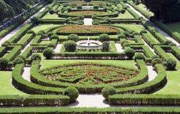梵蒂冈9月20日:环境美化在2010年9月20日的梵蒂冈庭院在梵蒂冈,罗马,意大利 免版税图库摄影