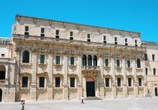 梵蒂冈Diocesano莱切博物馆  免版税图库摄影