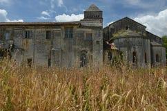 梵高的收容所在圣雷米,法国 免版税图库摄影