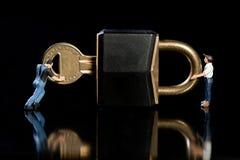 检查安全性证券 免版税库存照片