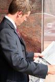 检查市场 免版税库存图片