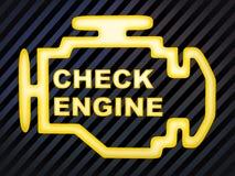 检查引擎 向量例证