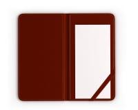 检查文件夹与空的ceck 免版税库存照片