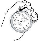 检查时间 免版税库存照片