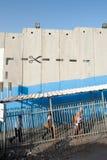 检查点以色列人终端 库存图片