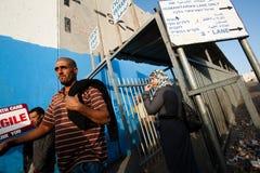 检查点以色列人终端 免版税库存照片