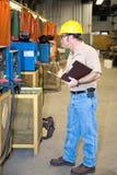 检查设备安全性焊接 库存图片