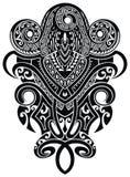 检查设计图象我的投资组合相似的纹身花刺 纹身花刺部族传染媒介设计 艺术部族纹身花刺 图库摄影