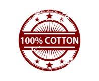 棉花徽章标签胶粘物纺织品时装业 免版税库存照片