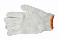 棉花手套 免版税库存照片