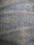 棉花牛仔布详细资料织品牛仔裤纹理 图库摄影