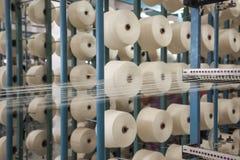 棉花线程数卷轴 免版税库存照片