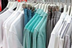 棉花衣物和气喘 图库摄影