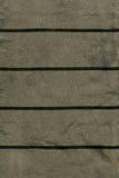 棉织物纹理-与深绿条纹的灰色/绿色 免版税库存图片