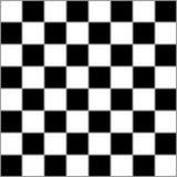 棋与灰色毗邻的正方形的桌经典之作 免版税库存照片