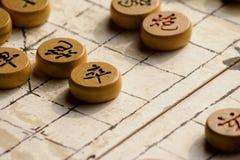 棋中国人比赛 库存照片