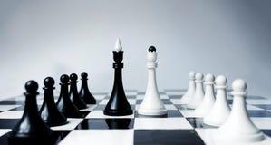 棋会议 免版税库存图片