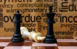 棋和企业概念 库存图片