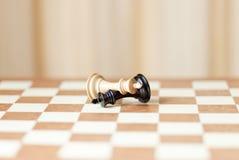 棋子,赢取和疏松 免版税库存照片