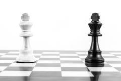 棋挑战 免版税图库摄影
