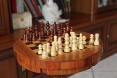棋枰和草稿 库存照片