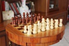 棋枰和草稿 免版税库存照片