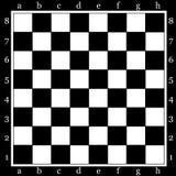 棋枰 库存例证