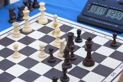 棋比赛马拉松 库存照片