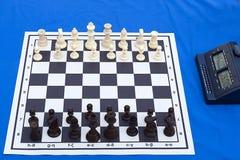 棋比赛马拉松 免版税库存照片